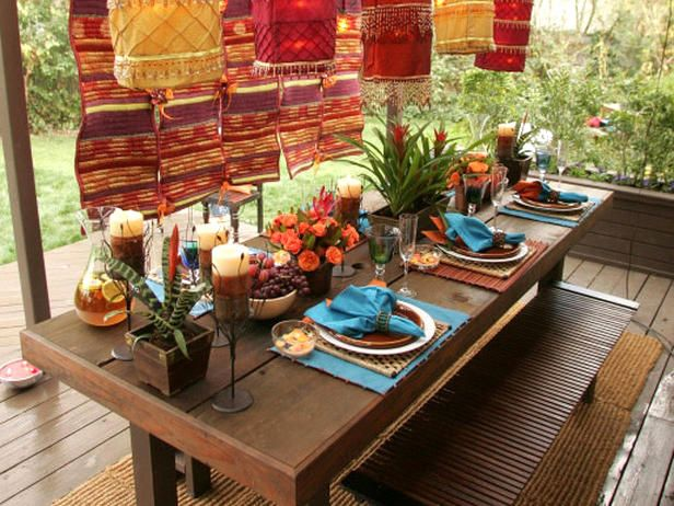 Go Global - Top 8 No-Stress Party Themes on HGTV