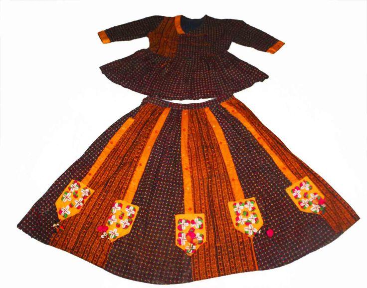 Vintage kutch rabari banjara garba dance india traditional hand emb lehnga choli by Vintageethnicindian on Etsy