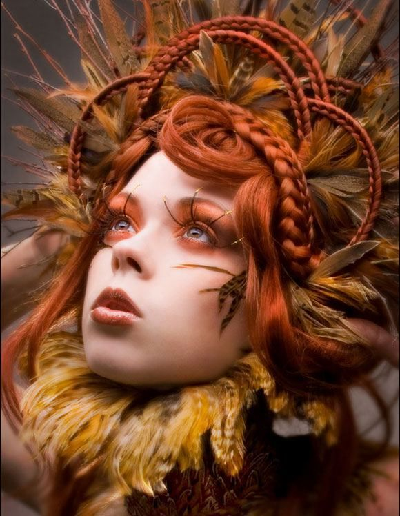 .Crazy Hair, Fashion, Autumn, Colors, Makeup, Beautiful, Hunger Games, Nature History, Forefront