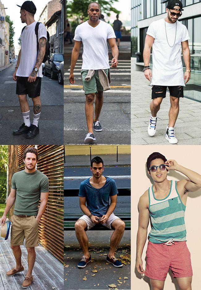 1 - Looks masculinos com bermuda homens que se cuidam basicão