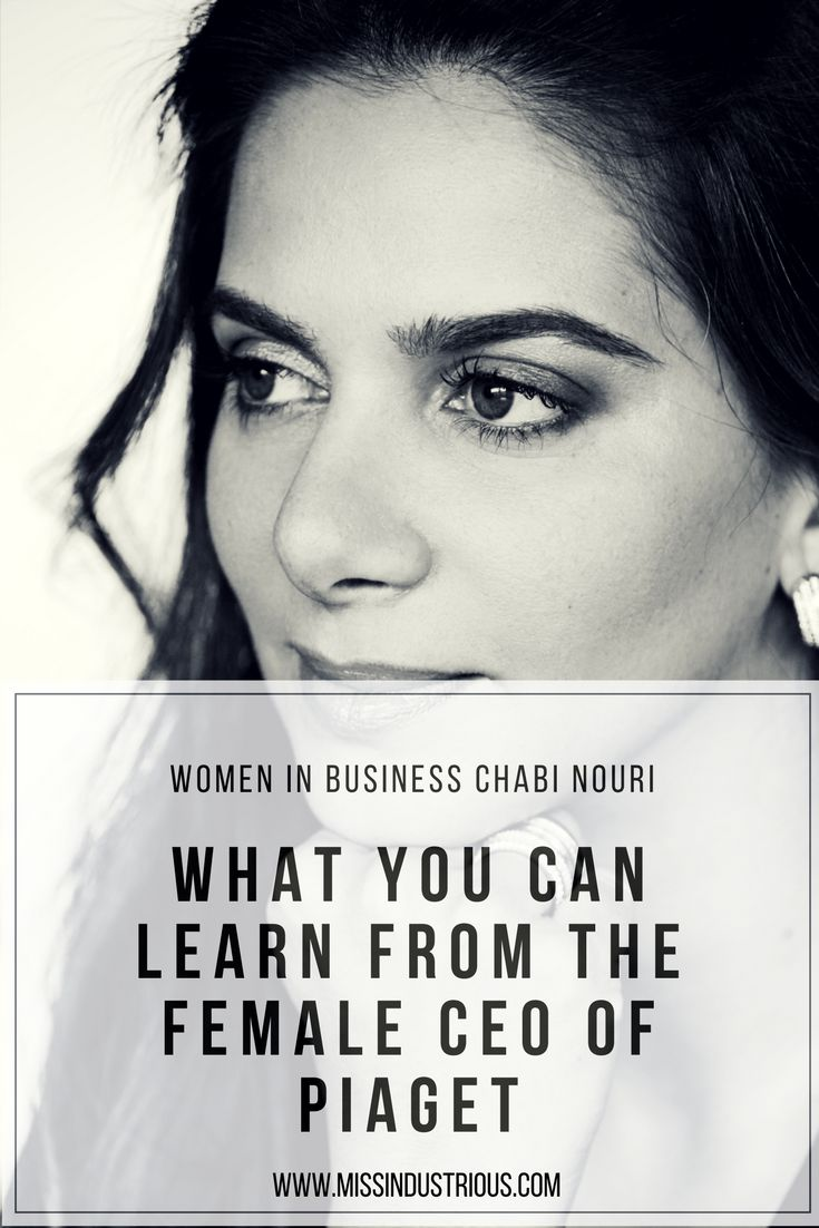 Meet Chabi Nouri CEO of Piaget High Jewellery and Timepieces swiss made. Business and Lifestyle interview with a talented female CEO.