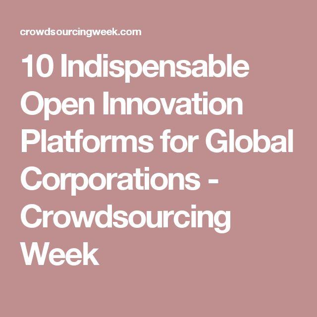 10 Indispensable Open Innovation Platforms for Global Corporations - Crowdsourcing Week