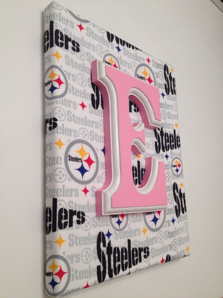 NFL Canvas NFL Sports Nursery Man Cave Wall by ChellesCraftShoppe, $13.50
