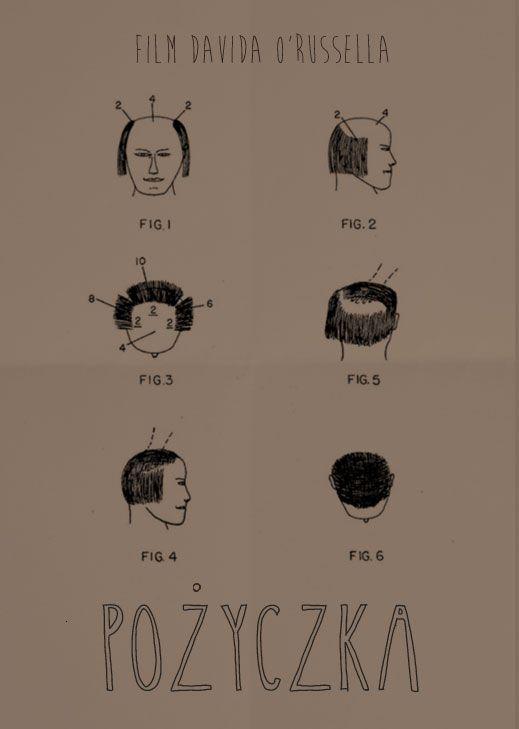"""""""American Hustle"""" Poster http://kasza-ze-sokiem.blogspot.com/2014/01/tak-sie-skubie-w-ameryce.html"""