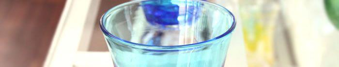 【琉球ガラス】浅瀬グラス