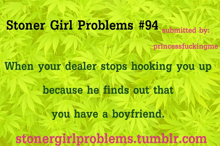 My daughter is dating a stoner