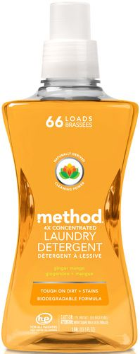 I'm obsessed!!! Method Laundry Detergent Ginger Mango - 4x Concentrated $16.49 - from Well.ca