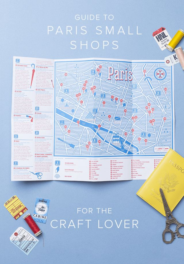 Paris small shops guide