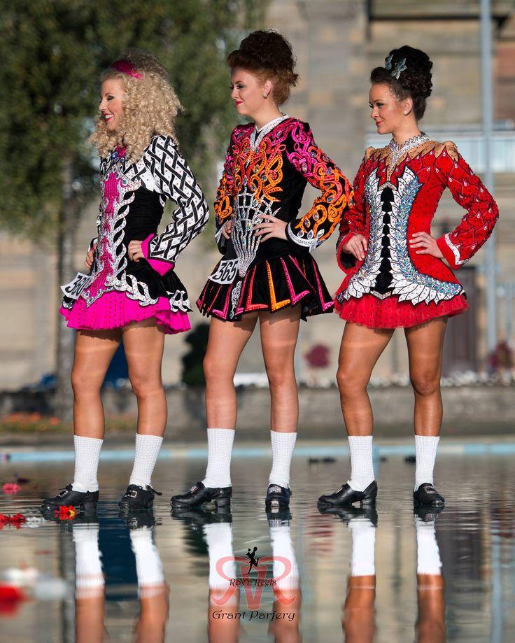 irish dancers walk on water