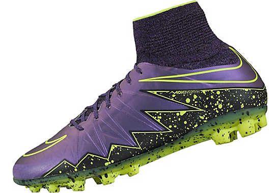 Nike Hypervenom Phantom II AG-R Soccer Cleats - Hyper Grape