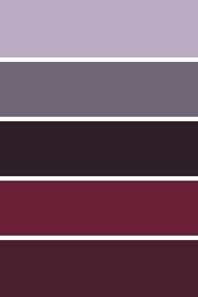 #Blackberry Autumn #Color #Palette 2