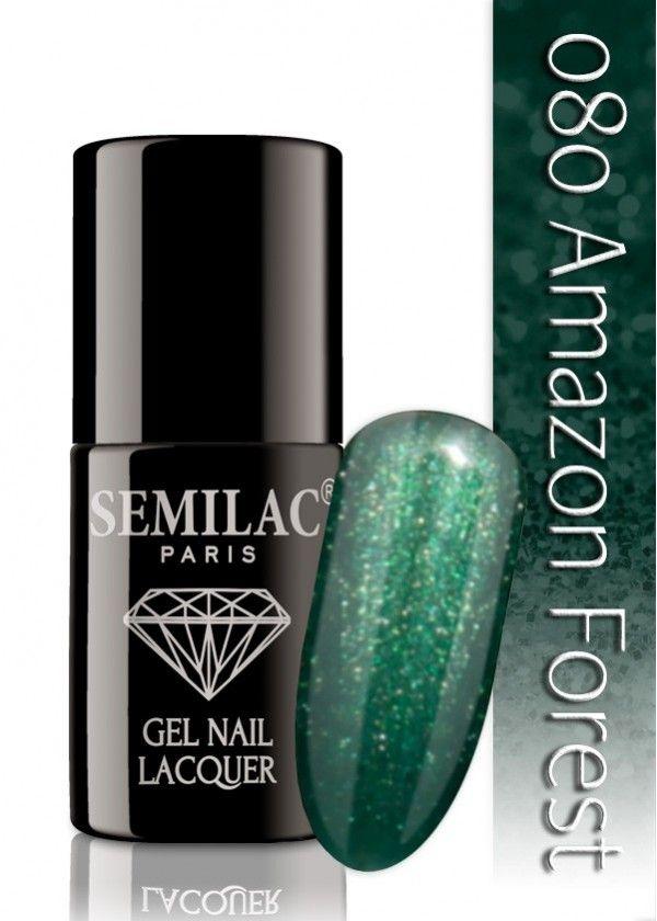 Semilac 080 Amazon Forest UV&LED Nagellack. Auch ohne Nagelstudio bis zu 3 WOCHEN perfekte Nägel!