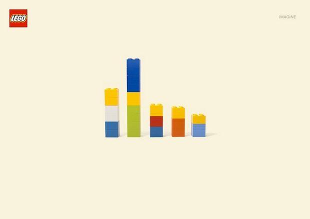 Minimal design with lego