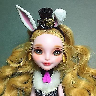 OOAK Ever After High/Monster High Custom Art Doll - Bunny Blanc