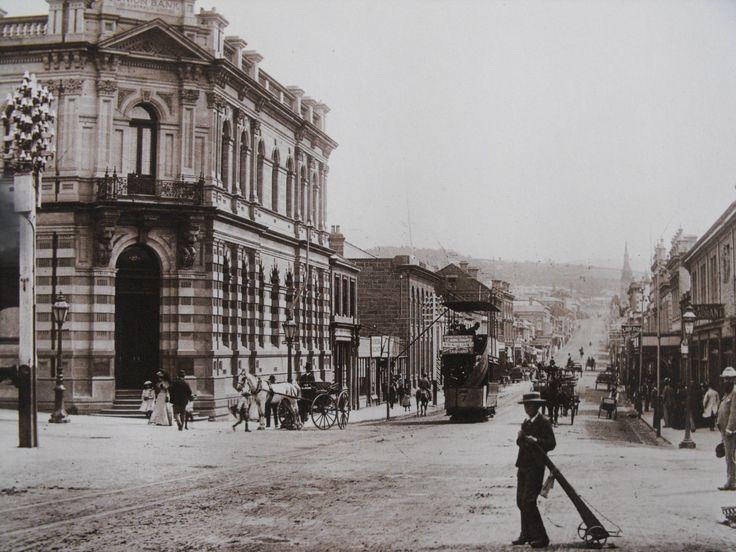 Elizabeth Street Mall - 1880