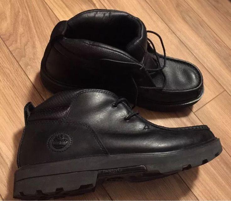 Timberland Shoes Rugged Street 2 II Chukka Black Casual Boots 41050 EUC 9.5