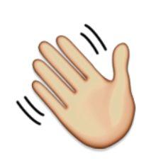 hey emoji ile ilgili görsel sonucu