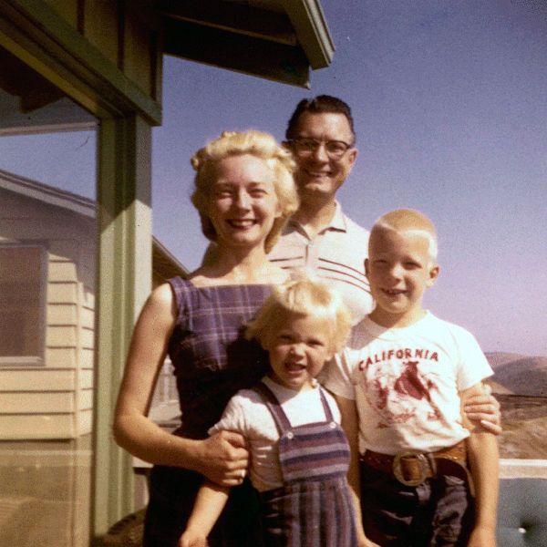 Nuclear family, circa 1955