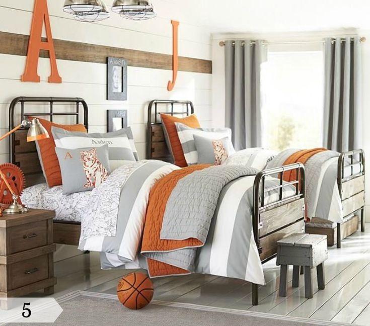 Bedroom Design Ideas For Teenage Girls Bedroom Paint Ideas Earth Tones Little Boys Bedroom Sets Bedroom Wall Decor Ideas: 30 Best Navy And Orange Bedroom Images On Pinterest