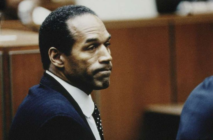 """July 22,  1994: O.J. SIMPSON PLEADS NOT GUILTY  -    The retired NFL player is charged with the murder of his estranged wife Nicole Brown Simpson and her friend Ronald Lyle Goldman in 1994. Simpson surrendered to the police following a dramatic low-speed chase through the streets of Los Angeles. After a lengthy, widely watched jury trial, Simpson pleaded """"absolutely, 100% not guilty."""""""