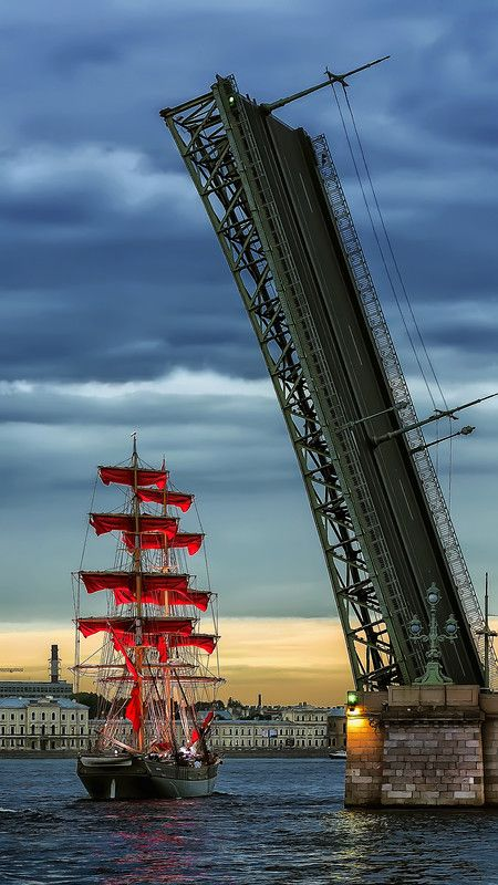 Petersburg. Scarlet Sails