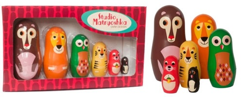 Studio Matryoshka Nesting Animals - UrbanBaby