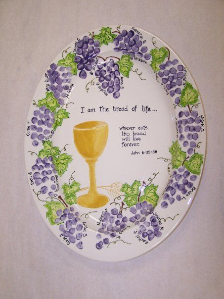 Classroom First Communion platter