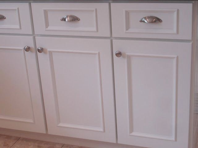 Cabinet Door Makeover, How To Add Trim Kitchen Cabinet Doors