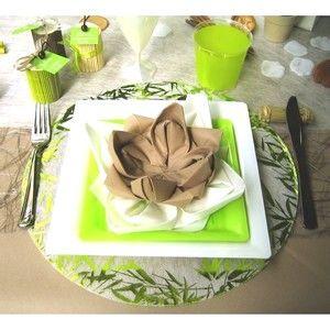 1000 images about deco th me zen on pinterest - Pliage serviette theme mer ...