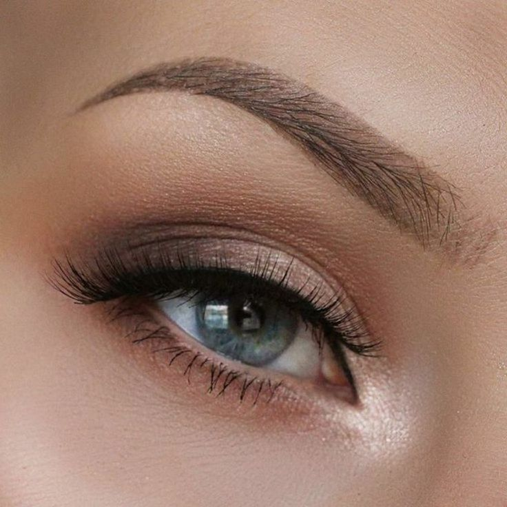 Effective makeup for blue eyes  great make-up tips #simple #smokey #eyeliner #ap…