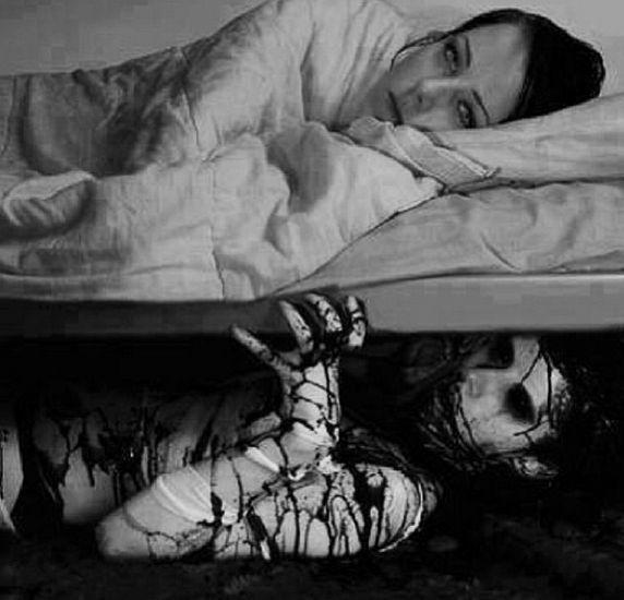 Сон умершая ущепнула за ногу