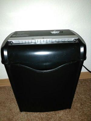 Paper shredder almost new