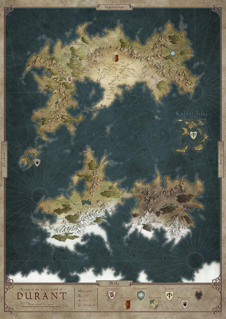 Maxu0027s Maps I Artistic Cartography I Fantasy