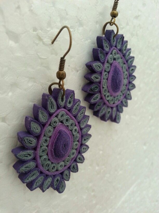 983 best images about Bisuteria con papel ( Paper jewelry) on Pinterest Paper, Paper jewelry ...