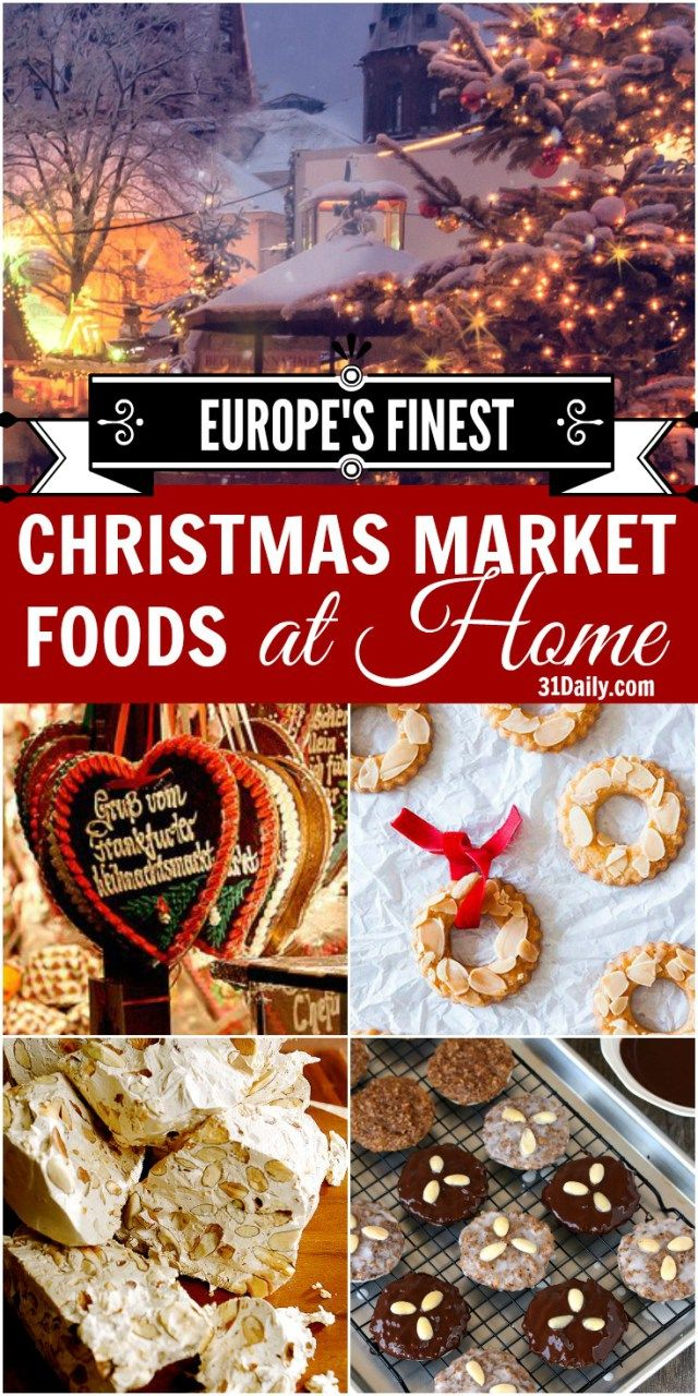 Travel to Europe with Christmas Market Foods to Make at Home | 31Daily.com