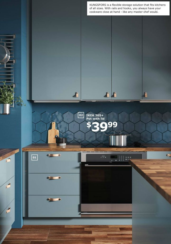 Ikea 2019 Catalogue Design Ideal Kitchen Cabinets