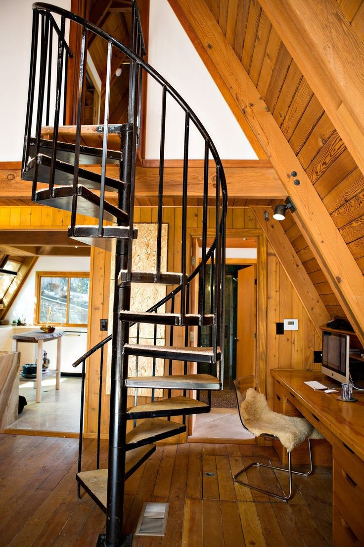 10 best images about spiral stair on pinterest house for Spiral staircase house plans