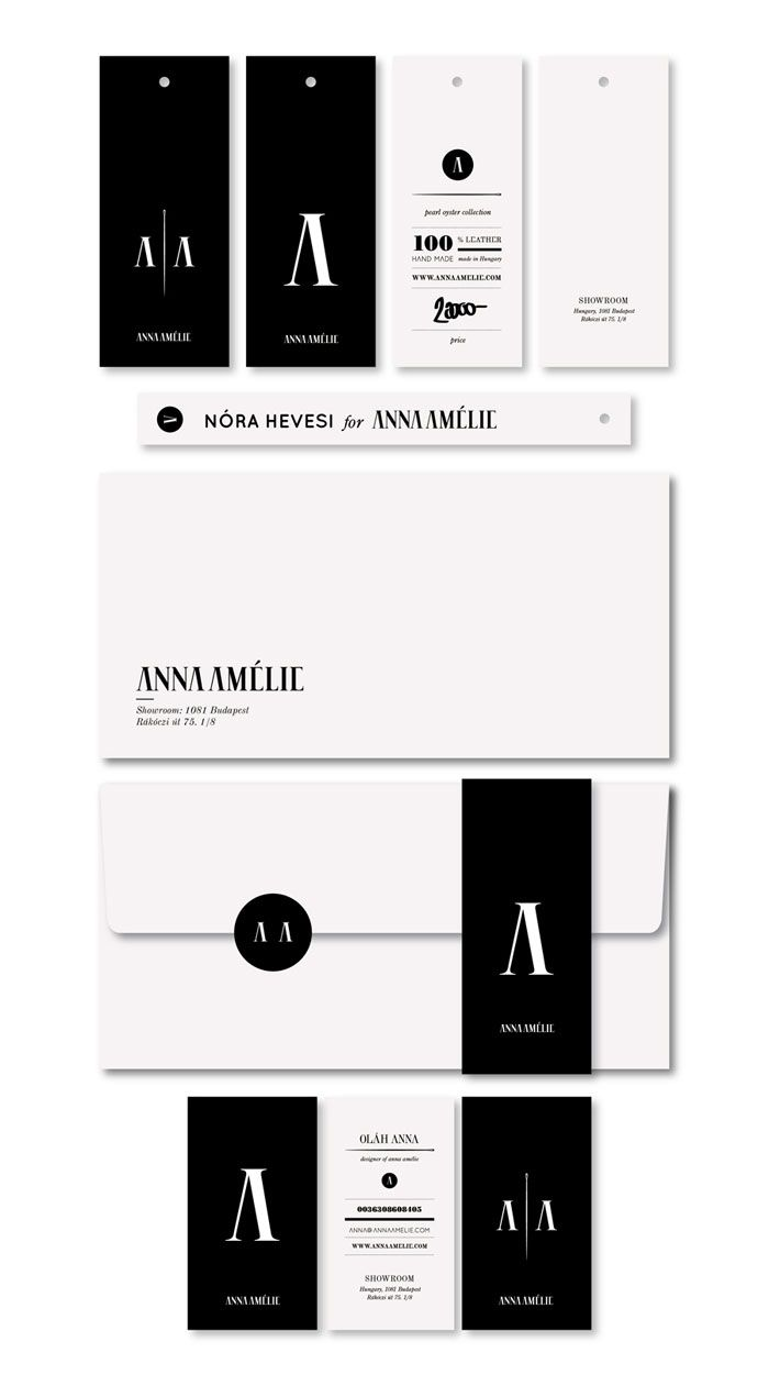 Anna Amelie- design: Corporate Design, Black And White, Corporate Identity, Logos Design, Graphics Design, Identity Design, Invitations Cards, Branding Identity, Business Cards Design