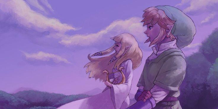 Zelda And link ❤️