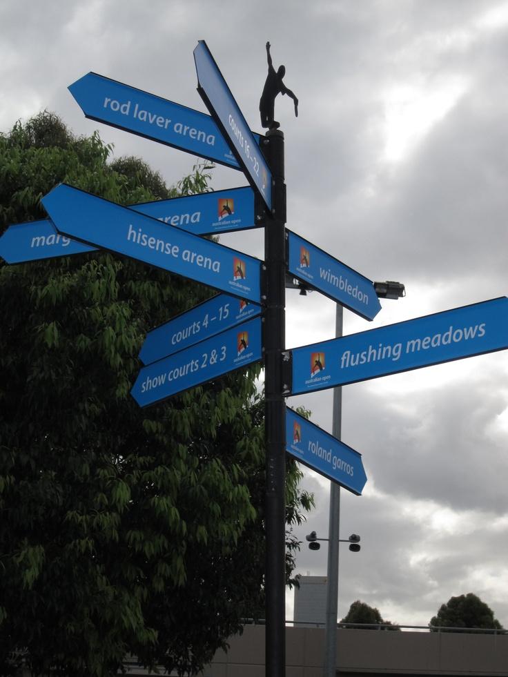 Melbourne, Australia.  Melbourne Park.