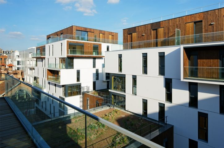 Boucicaut Housing and Medical Care by Ameller, Dubois et Associés - News - Frameweb