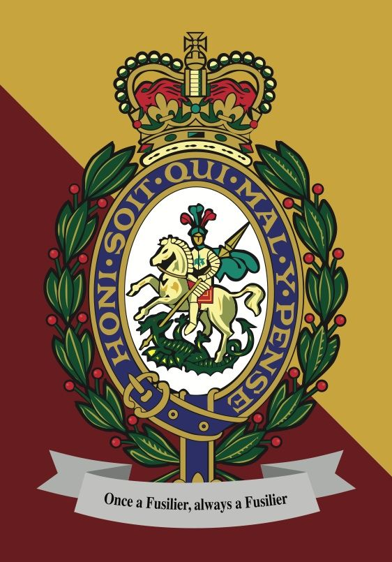 The Royal Regiment of Fusiliers (RRF) is an infantry regiment of the British Army and part of the Queen's Division. The RRF is one of the existing large infantry regiments.