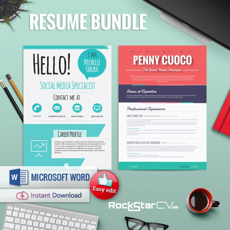 51 best RockStarCV - Resume Templates images on Pinterest - resume subject line