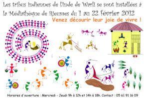 Peinture Warli - Ville de Rieumes