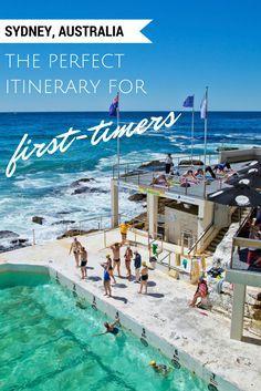 What to do on a trip to Sydney, Australia from Bondi Beach to Taronga Zoo to the Opera House.