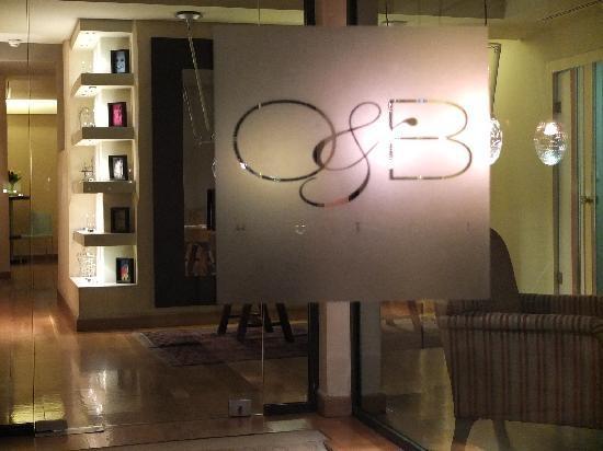 OandB Athens Boutique Hotel: Eingang OandB Hotel
