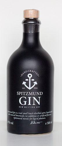 Spitzmund New Western Dry Gin #packaging