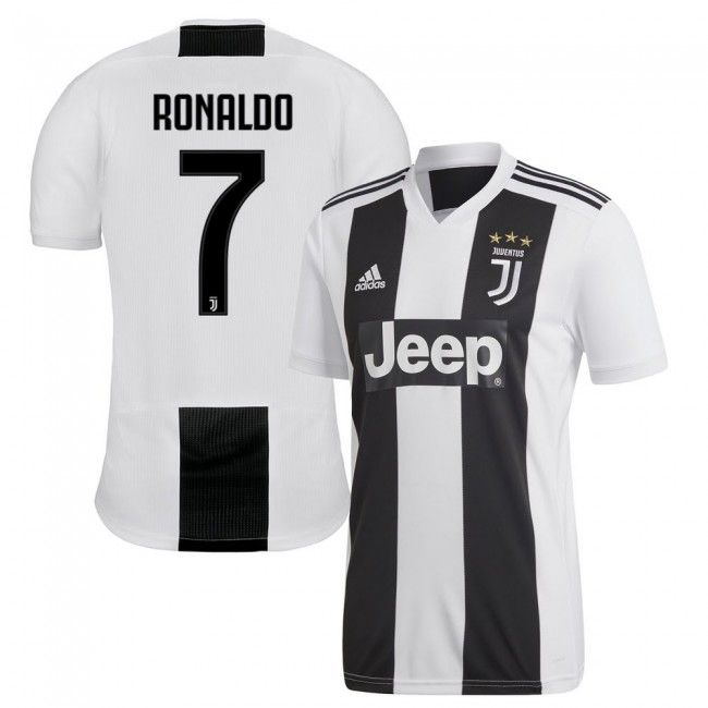 Auténtica Juventus 2018-2019 Local + Ronaldo 7 (Dorsal Oficial)  juventus   49e14d3afc1c0