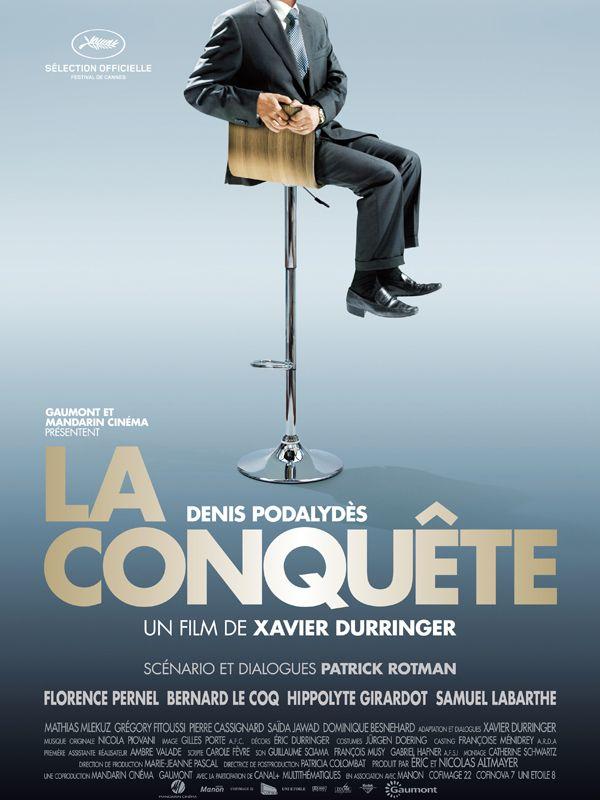 La Conquête est un film biographique français réalisé par Xavier Durringer, sorti le 18 mai 2011 en France, le jour-même de sa présentation au Festival de Cannes. Le film évoque l'ascension au pouvoir de Nicolas Sarkozy, de sa nomination au poste de ministre de l'Intérieur en 2002 à son élection à la tête de l'État français en 2007. Son parcours est raconté à la façon d'un thriller. Plus généralement, le film fait pénétrer le spectateur dans les arcanes du monde politique fait de pactes...