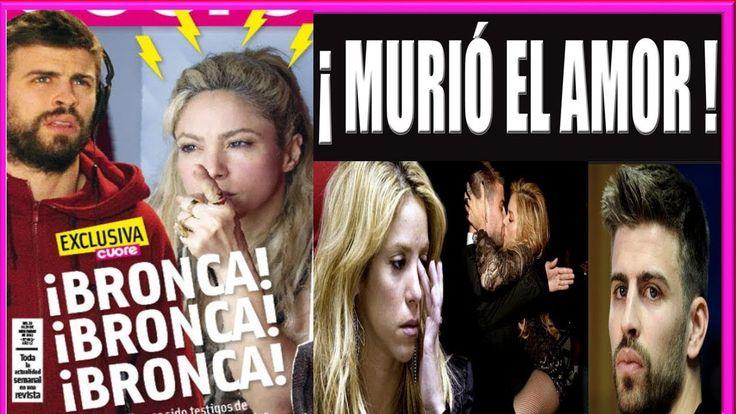 Pique y Shakira Generan Polémica por Fuerte discusión en Restaurante Noticias de Ultima Hora